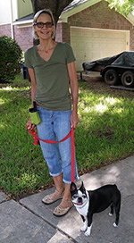 Denise happy with K9Kenny Dog Training in Austin, TX